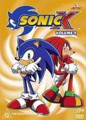 Sonic X - Volume 02 on DVD