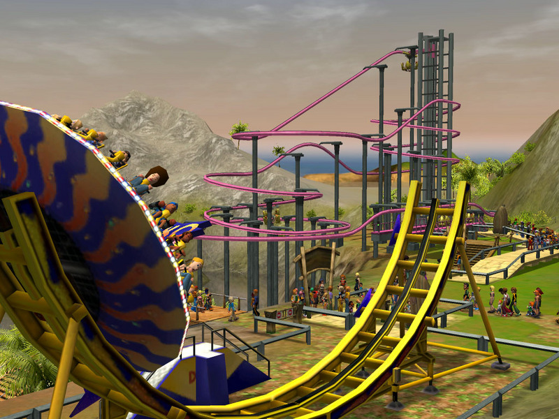 Rollercoaster Tycoon 3 Gold Edition (includes 'Wild' expansion) for PC Games image