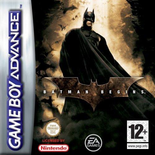 Batman Begins for Game Boy Advance