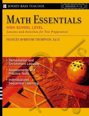 Maths Essentials by Frances McBroom Thompson
