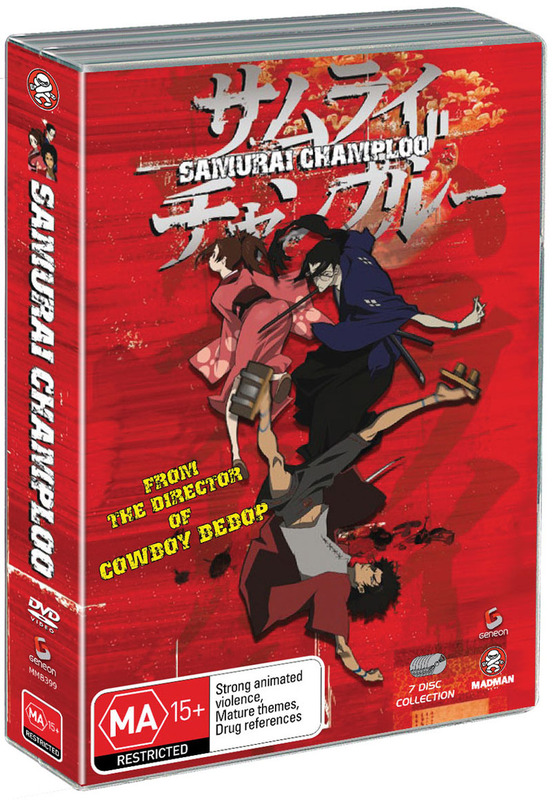 Samurai Champloo - Complete Collection (7 Disc Amaray Case) on DVD