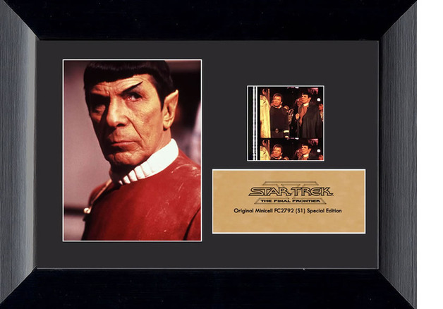 FilmCells: Mini-Cell Frame - Star Trek (The Final Frontier)