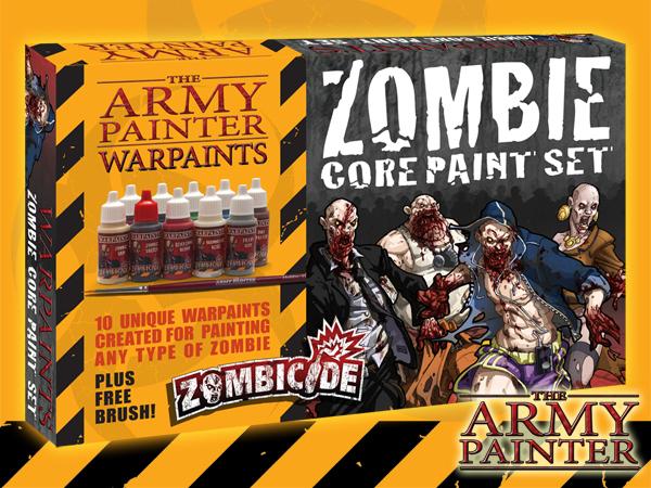 Army Painter Warpaints Zombicide: Zombie Core Paint Set image