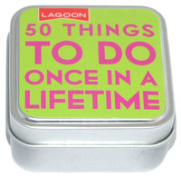 Tabletop Entertainments - 50 Things To Do Once In A Lifetime