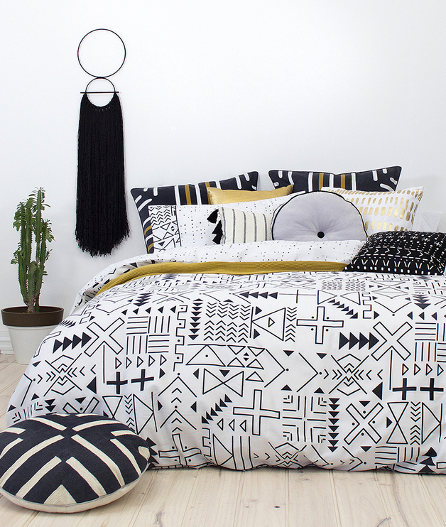Bambury Super King Quilt Cover Set (Farah)