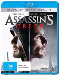 Assassin's Creed on Blu-ray, UHD Blu-ray