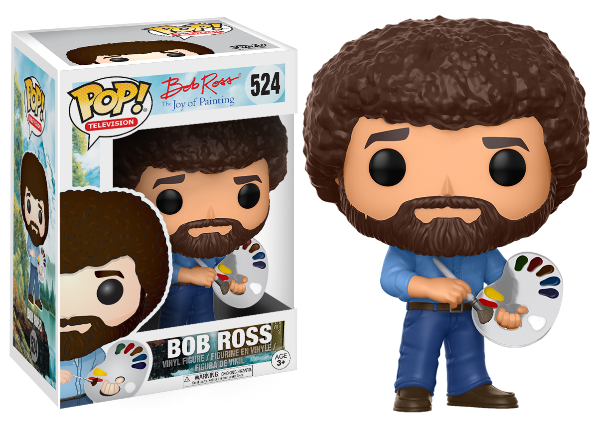 The Joy of Painting - Bob Ross Pop! Vinyl Figure image