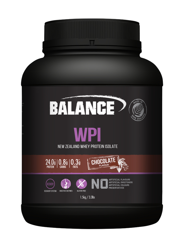 Balance WPI - Whey Protein Isolate Powder - Chocolate (1.5kg)