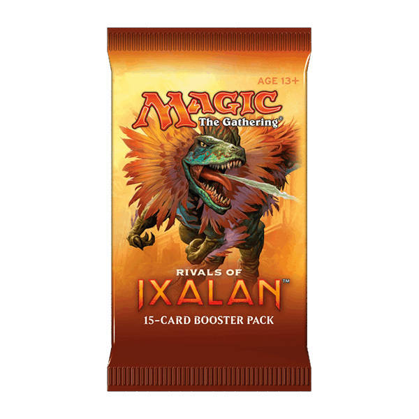 Magic The Gathering: Rivals of Ixalan Single Booster (15 Cards)