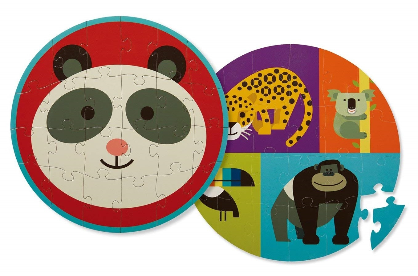 Panda Friends - Two-Sided Puzzle image