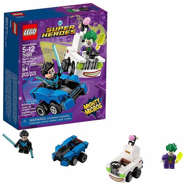 LEGO Super Heroes: Mighty Micros - Nightwing vs. Joker (76093)