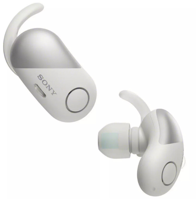 Sony: WFSP700NW - Complete Sports Noise Cancelling Headphones (White)