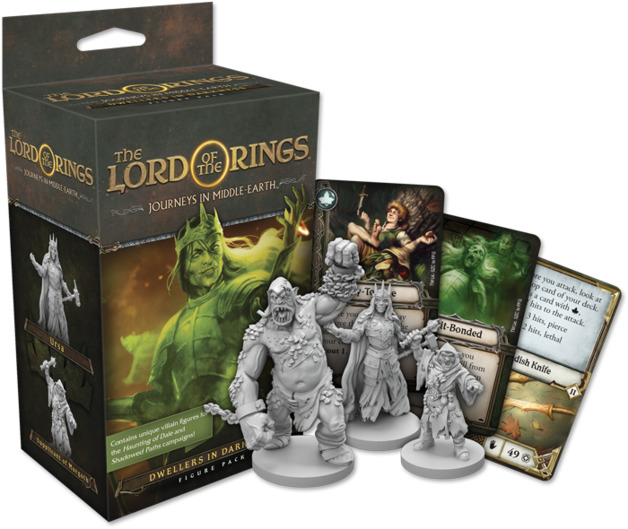 Lord of the Rings: Journeys in Middle Earth - Dwellers in Darkness Expansion