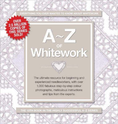 A-Z of Whitework image