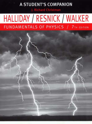 Fundamentals of Physics: Student Study Guide to 7r.e. by David Halliday image