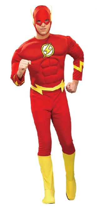Flash Muscle Chest Costume (Medium)