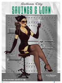 DC Comics Bombshells Catwomen Art Print