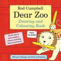 The Dear Zoo Drawing and Colouring Book by Rod Campbell