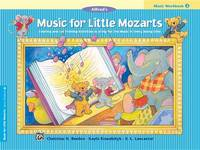 Music for Little Mozarts Music Workbook, Bk 3 by Christine H Barden