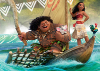 Moana 60 Piece Puzzle - Epic Voyages