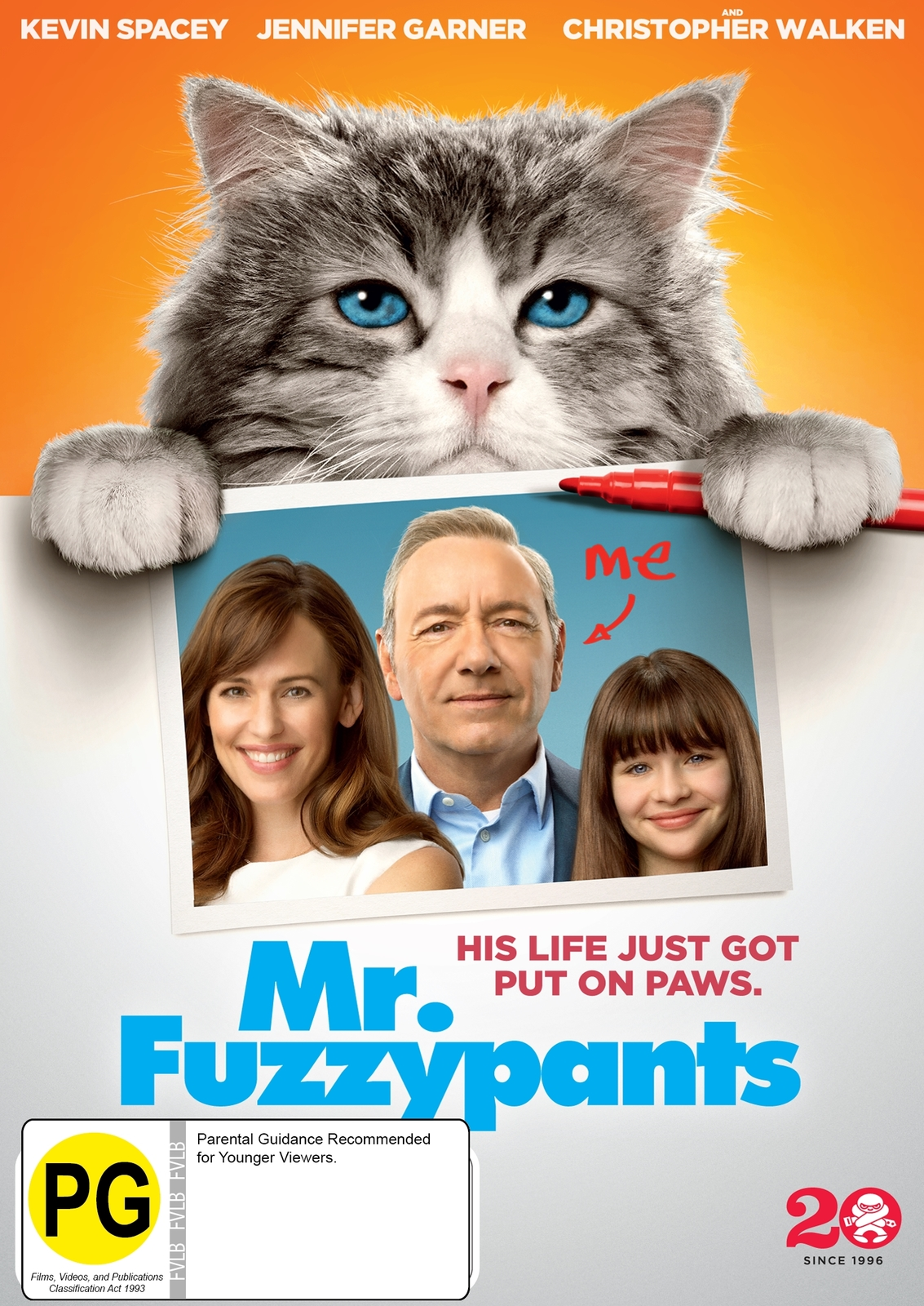 Mr. Fuzzypants on DVD image
