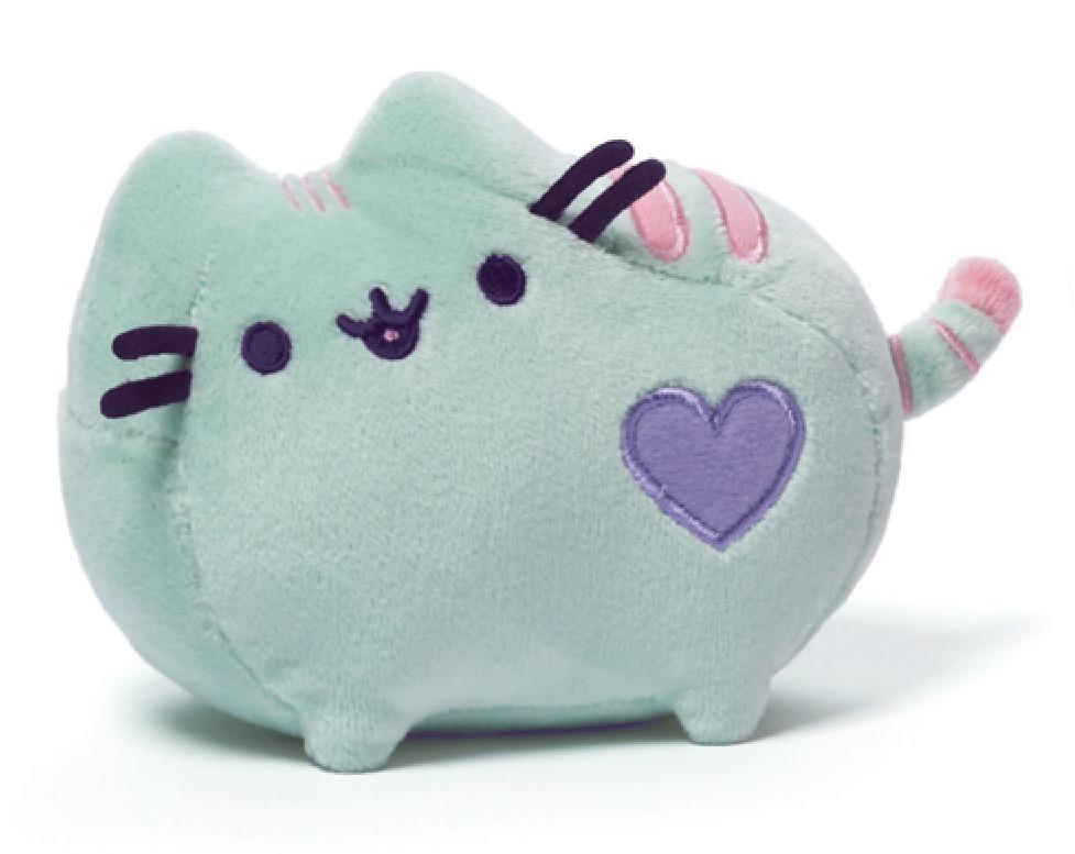 Pusheen The Cat: Pastel Green Pusheen - Small Plush image