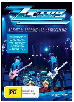 ZZ Top - Live From Texas on  image