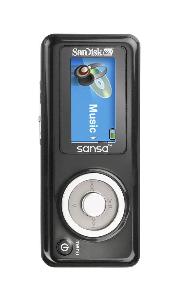 Sandisk 1GB Sansa C140 1GB MP3 Player image
