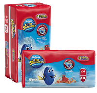 Huggies Little Swimmers Swimpants - 2 Pack Bundle - Large 14+ kg (2x10)