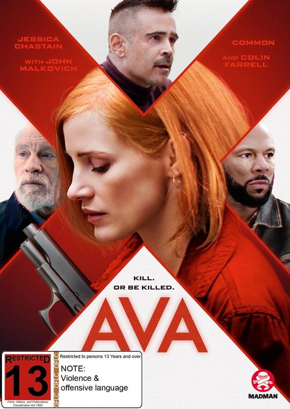 Ava (2020) on DVD
