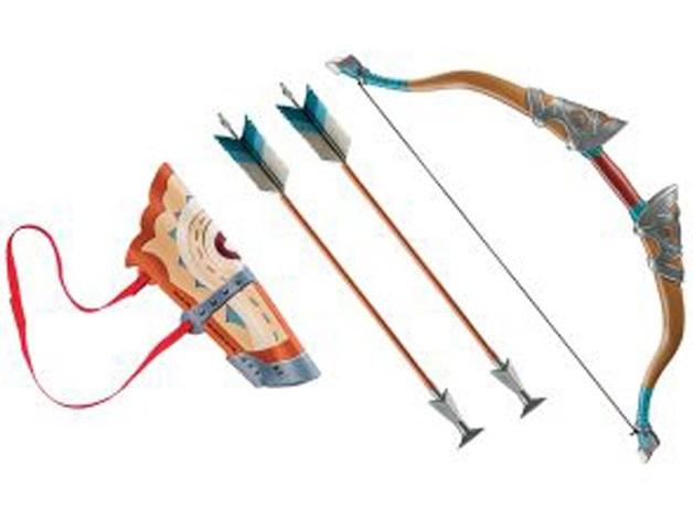 Legend of Zelda: Link's Bow & Arrow Quiver - Prop Replica Set