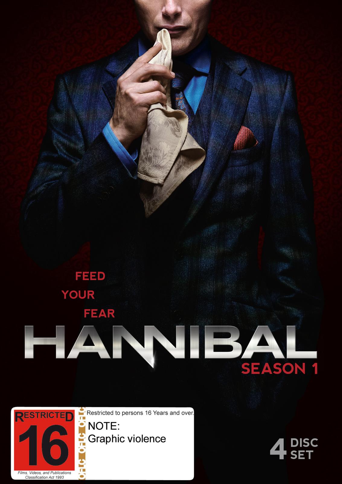 Hannibal - Season 1 on DVD image