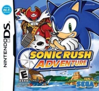 Sonic Rush Adventure for Nintendo DS