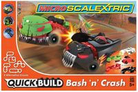 Scalextric Micro Quick Build Bash 'n' Crash 1/64 Slot Cars Set
