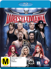 WWE: Wrestlemania 32 on Blu-ray