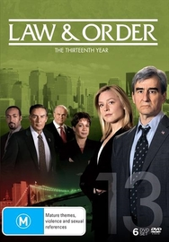 Law and Order - The Thirteenth Year on DVD