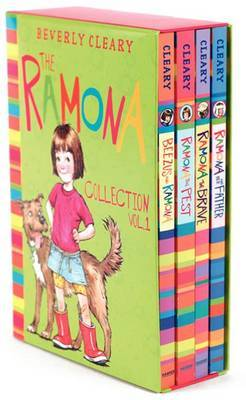 The Ramona Collection, Vol. 1: Beezus and Ramona / Ramona the Pest / Ramona the Brave / Ramona and Her Father by Beverly Cleary