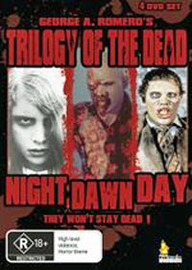 Trilogy Of The Dead (1968-1985) (George A. Romero's) (4 Disc Box Set) on DVD