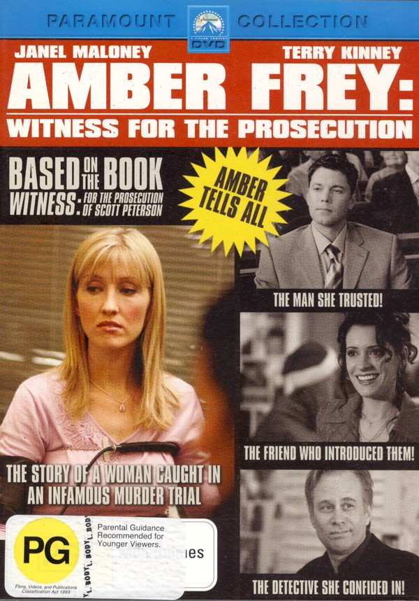 Amber Frey: Witness For The Prosecution on DVD image