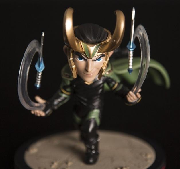 Thor Ragnarok: Loki - Q-Fig Diorama