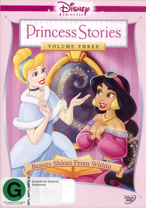 Disney Princess Stories Vol 3: Beauty Shines Within on DVD image