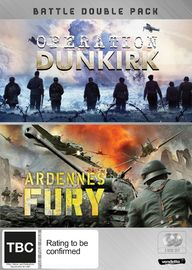 Battle Double: Operation Dunkirk & Ardennes Fury on DVD