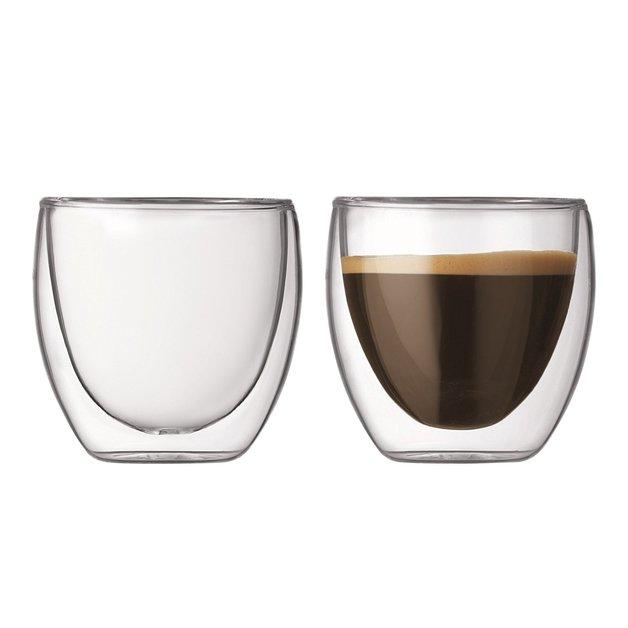 Bodum: Pavina Double Wall Glasses (80ml) - Box of 2
