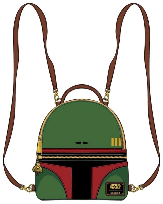 Loungefly: Star Wars Convertible Mini Backpack - Boba Fett