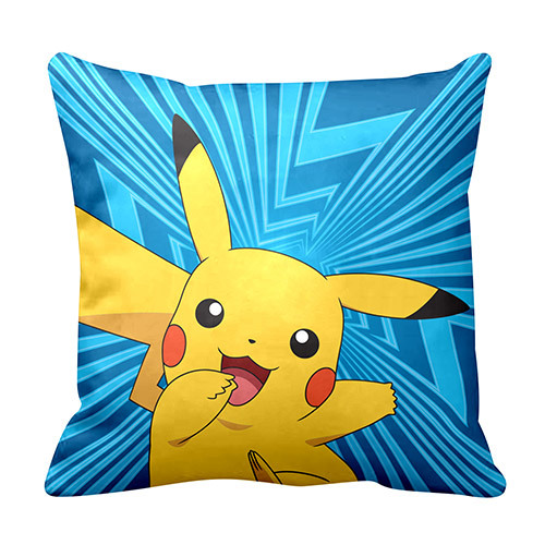 Pokemon: Cushion - Pikachu (Blue)