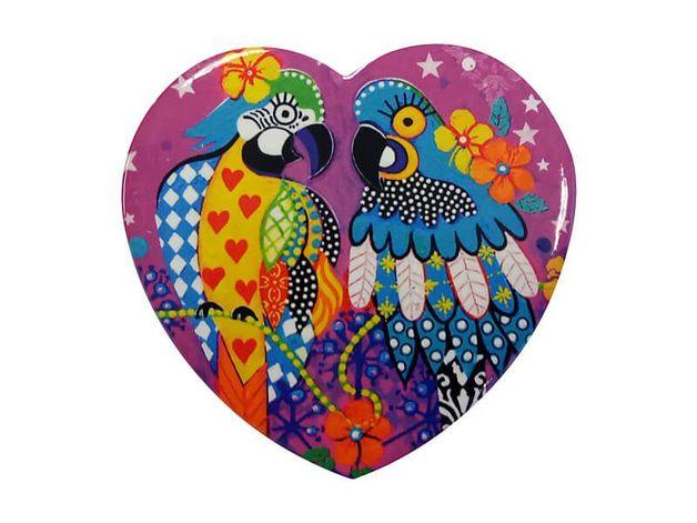 Maxwell & Williams: Love Hearts Ceramic Heart Coaster - Araras