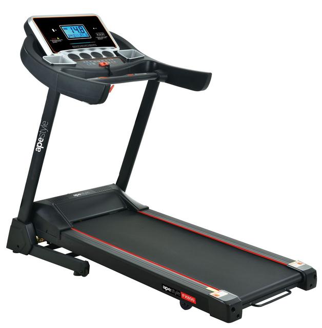Ape Style FX800 Home Gym Fitness Foldable Treadmill