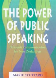 Power of Public Speaking by Marie Stuttard image