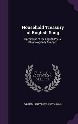 Household Treasury of English Song by William Henry Davenport Adams image