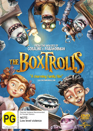 The Boxtrolls on DVD